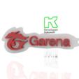 3.PNG Download free 3DS file Garena logo free fire gaming new • 3D print model, ronaldocc13