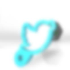 twitter.stl Download free 3DS file Twitter new on 2020 digital social media • 3D print object, ronaldocc13