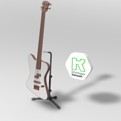 bajo.PNG Download 3DS file Bass MUSIC another guitar • Object to 3D print, ronaldocc13