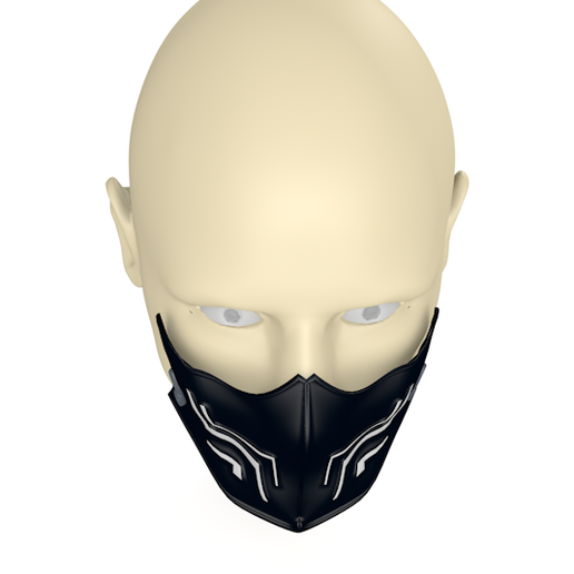 3.PNG Download free 3DS file New Chinstraps against the new coronavirus (COVID-19) #3DvsCOVID19 • 3D printable template, ronaldocc13