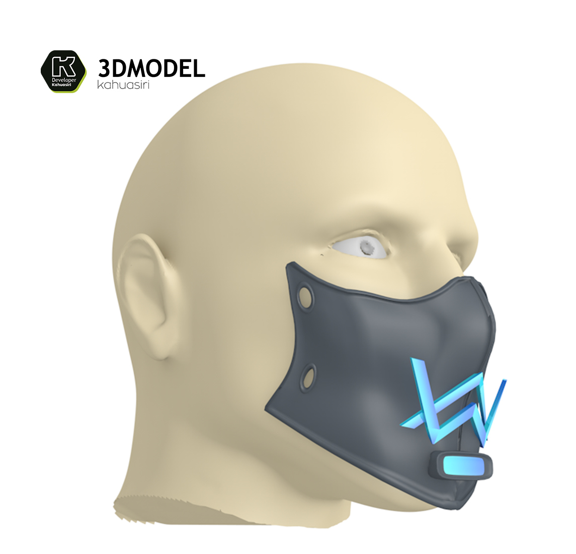4.jpg Download free 3DS file Alan Walker Coronavirus protection mask (COVID-19) MOD 1 #3DvsCOVID19 • 3D printer object, ronaldocc13