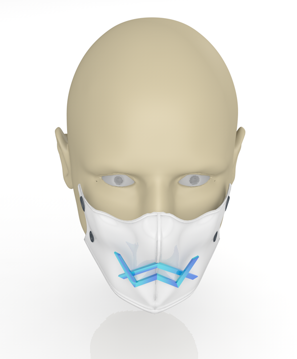 03.PNG Download free 3DS file Alan Walker coronavirus protection mask (COVID-19) MOD 2 #3DvsCOVID19 • Design to 3D print, ronaldocc13