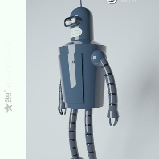 9 pub.jpg Télécharger fichier 3DS gratuit Blender Futurama 2020 personnage ICONICO viral • Plan pour imprimante 3D, ronaldocc13