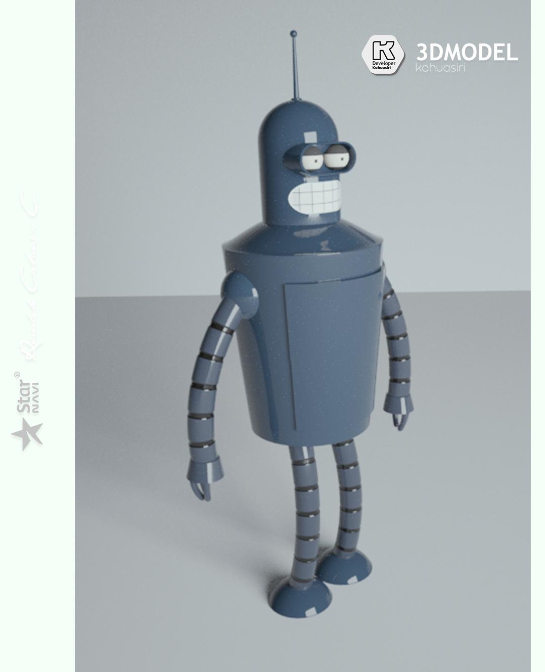 11 pub.jpg Télécharger fichier 3DS gratuit Blender Futurama 2020 personnage ICONICO viral • Plan pour imprimante 3D, ronaldocc13