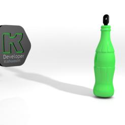 Download free 3D print files Soda Keychain Soda, ronaldocc13