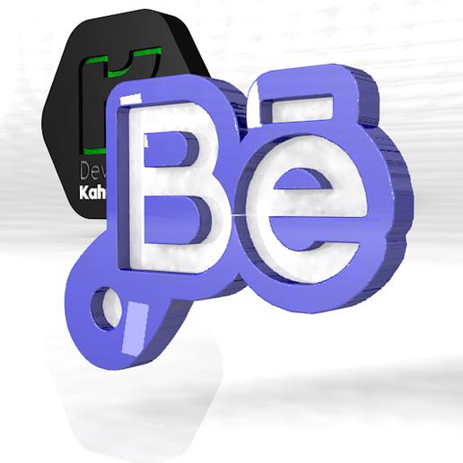 Download free OBJ file Behance key ring 2020 new fashion tips • Design to 3D print, ronaldocc13