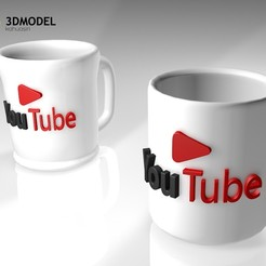 Download free 3D printing designs Free You tubers 2020 STL, ronaldocc13