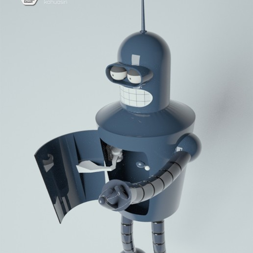 2 pub.jpg Télécharger fichier 3DS gratuit Blender Futurama 2020 personnage ICONICO viral • Plan pour imprimante 3D, ronaldocc13