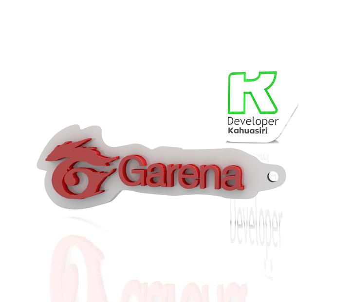 llavero.PNG Download free 3DS file Garena logo free fire gaming new • 3D print model, ronaldocc13
