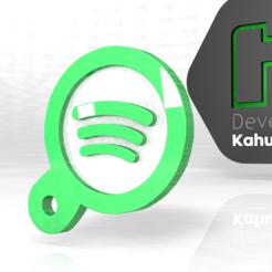 spoyi.PNG Download STL file Spotify new keychain spotify next music 2020 • 3D printer design, ronaldocc13