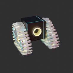 o1.png Download STL file 3D Robot Crawler Modeling • 3D printable design, ronaldocc13