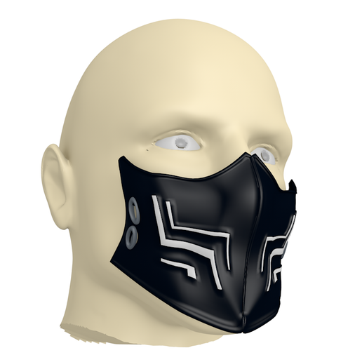 2.PNG Download free 3DS file New Chinstraps against the new coronavirus (COVID-19) #3DvsCOVID19 • 3D printable template, ronaldocc13