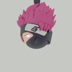 sasuke cabez 3.png Télécharger fichier STL la tête de sasuke • Objet pour impression 3D, ronaldocc13