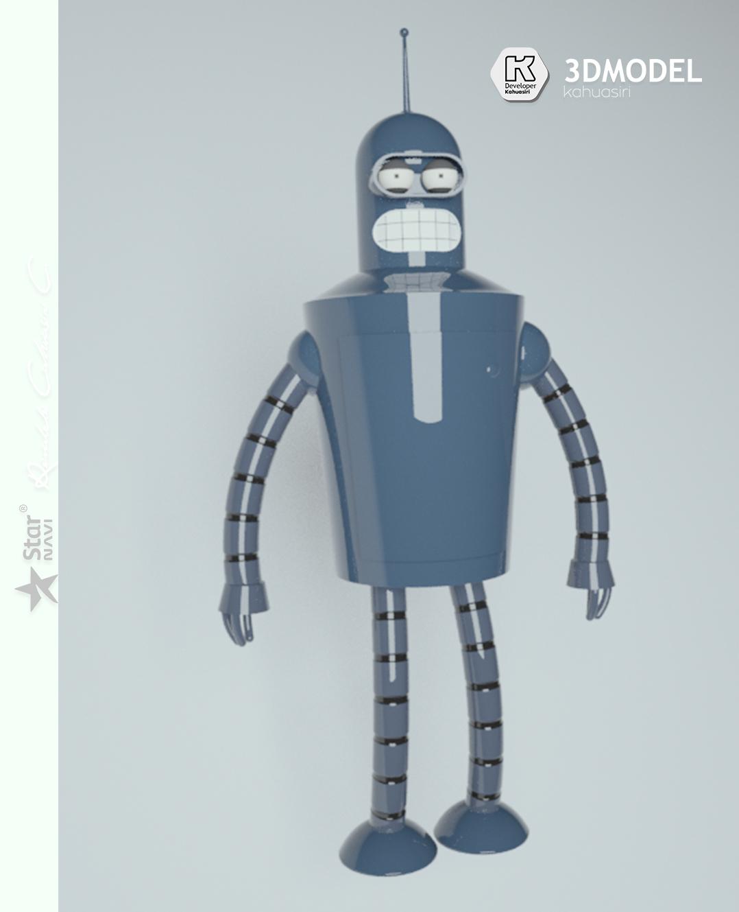 8 pub.jpg Télécharger fichier 3DS gratuit Blender Futurama 2020 personnage ICONICO viral • Plan pour imprimante 3D, ronaldocc13