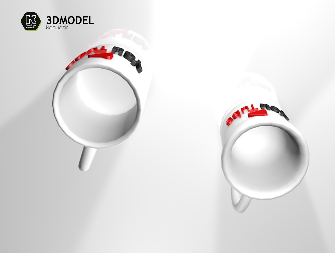 prev 5.jpg Download free 3DS file Free You tubers 2020 STL • 3D printer template, ronaldocc13