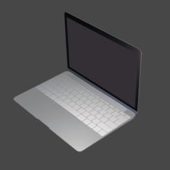 fuente 2.png Download STL file Laptop mac pro • 3D print template, ronaldocc13