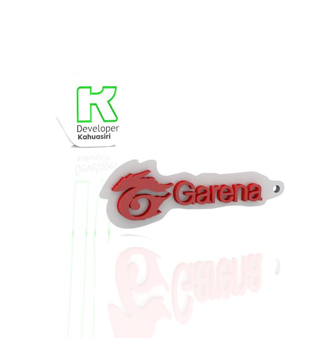 GARENA.PNG Download free 3DS file Garena logo free fire gaming new • 3D print model, ronaldocc13