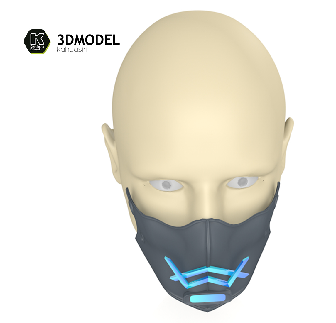 9.jpg Download free 3DS file Alan Walker Coronavirus protection mask (COVID-19) MOD 1 #3DvsCOVID19 • 3D printer object, ronaldocc13