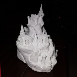 Download 3D printing models Winter Wondertown, derchrome