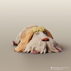 Heen_2.jpg Download free STL file Heen(Howl's Moving Castle) • 3D printer model, PatrickFanart