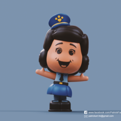 Download free STL file Giggle McDimples(Toy Story) • 3D printer template, PatrickFanart