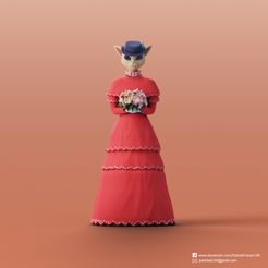 Luisa_2.png Download free STL file Luisa(Whisper of the Heart) • Object to 3D print, PatrickFanart