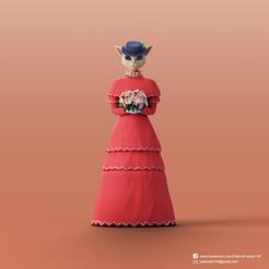 Download free 3D printer designs Luisa(Whisper of the Heart), PatrickFanart
