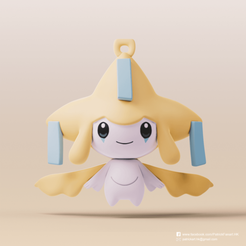 Jirachi_2.png Download free STL file Jirachi(Pokemon) • 3D printable design, PatrickFanart