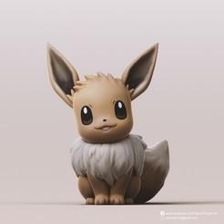 Eevee2_2.jpg Download free STL file Eevee(Pokemon) • 3D print model, PatrickFanart