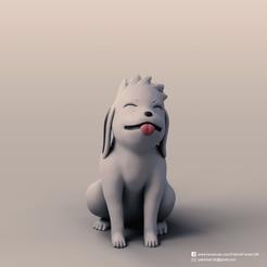 Akamaru_2.png Télécharger fichier STL gratuit Akamaru(Naruto) • Objet pour impression 3D, PatrickFanart