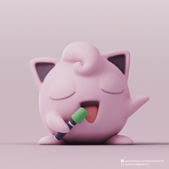Jigglypuff_2.png Download free STL file Jigglypuff(Pokemon) • 3D printing object, PatrickFanart