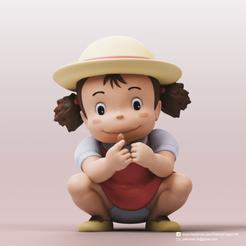 Mei Kusakabe_2.png Download free STL file Mei Kusakabe(My Neighbor Totoro) • 3D printer design, PatrickFanart