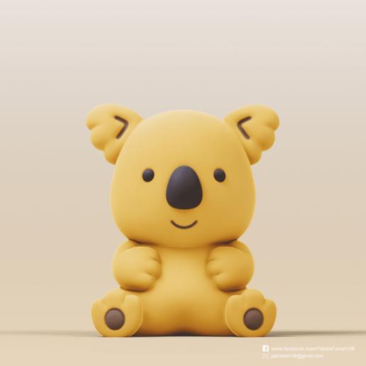 Télécharger fichier 3D gratuit Koala(Marche de Koala), PatrickFanart