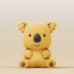 Koala_2.png Download free STL file Koala(Koala's march) • 3D printer design, PatrickFanart