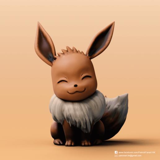 Download free 3D printing files Eevee(Pokemon), PatrickFanart