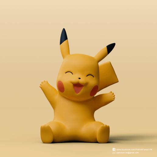 Télécharger fichier impression 3D gratuit Pikachu(Pokemon), PatrickFanart