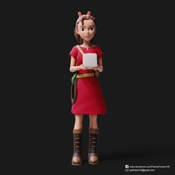 Download 3D printer designs Arrietty(The Secret World of Arrietty), PatrickFanart