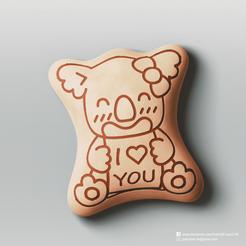 Koala's march_2.png Download free STL file Koala's march • 3D printing object, PatrickFanart