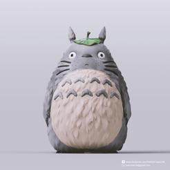 Télécharger fichier imprimante 3D gratuit Totoro(Mon voisin Totoro), PatrickFanart