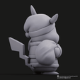 Christmas Pikachu_6.png Download STL file Pikachu & Eevee(Pokemon) • 3D printer template, PatrickFanart