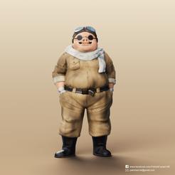 Descargar diseños 3D gratis Marco Pagot (Porco Rosso), PatrickFanart