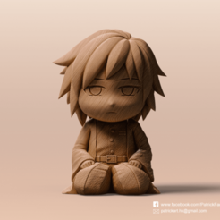 Download free 3D printer designs Tomioka Giyuu(Kimetsu no Yaiba), PatrickFanart