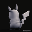 Download 3D printer designs Pikachu(Pokemon), PatrickFanart