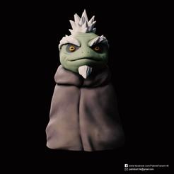 Fukasaku_2.png Télécharger fichier STL gratuit Fukasaku(Naruto) • Design pour imprimante 3D, PatrickFanart