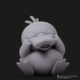 Psyduck_4.png Download free STL file Psyduck(Pokemon) • Design to 3D print, PatrickFanart