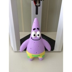 Descargar archivo 3D gratis Patrick para Bob Esponja, mbanubis