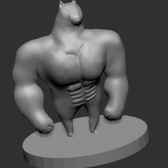doge2.PNG Download STL file Swole Doge • 3D printing object, jack123529
