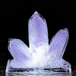 Descargar modelo 3D gratis Molde de la linterna de hielo de la amatista, Superbeasti