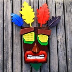 Descargar modelos 3D gratis Máscara de Aku Aku, Superbeasti