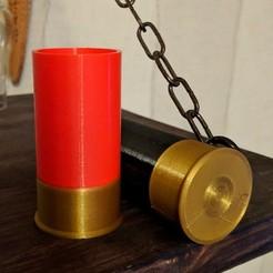 Impresiones 3D gratis Vaso de tiro de escopeta, Superbeasti
